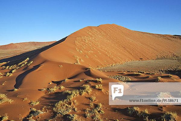 Sanddünen  Sossusvlei  Namib-Wüste  Namibia  Afrika Sanddünen, Sossusvlei, Namib-Wüste, Namibia, Afrika