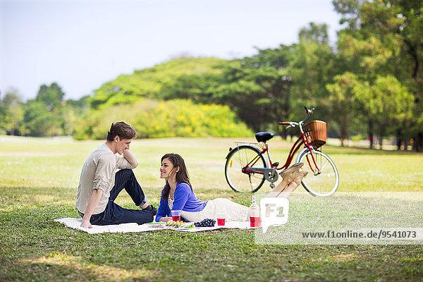 Picknick jung