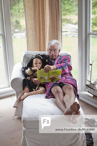 Buch Enkelsohn Großvater Taschenbuch vorlesen