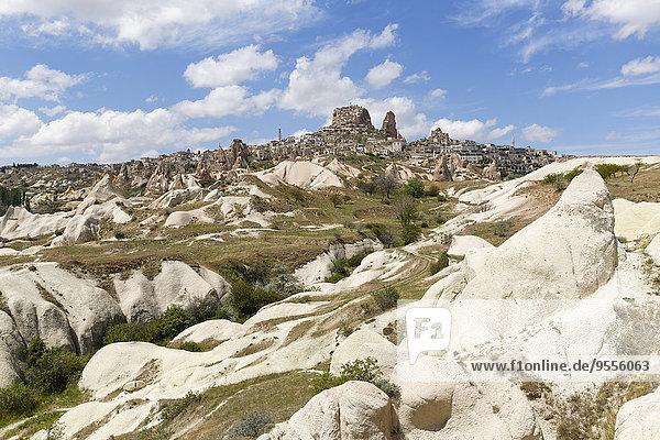 Türkei  Goereme Nationalpark  Uchisar und Guevercinlik Vadisi