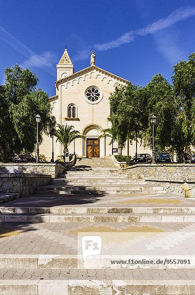 Spanien  Mallorca  Porto Cristo  Mare de Deu del Carme Kirche