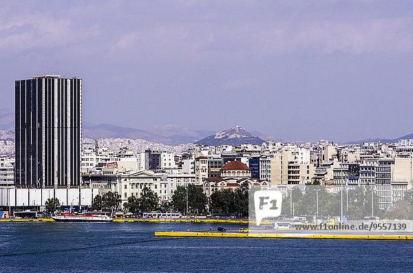 Griechenland  Athen  Hafengebiet