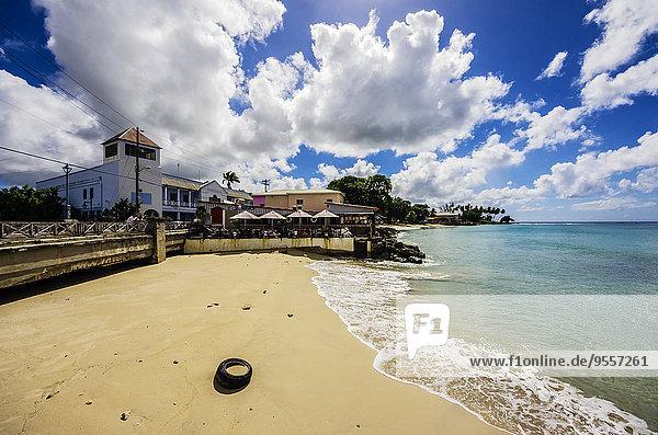 Karibik  Antillen  Kleine Antillen  Barbados  Speightstown  Strand