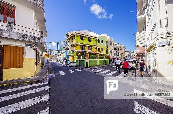 Karibik  Antillen  Kleine Antillen  Martinique  Fort-de-France  Innenstadt