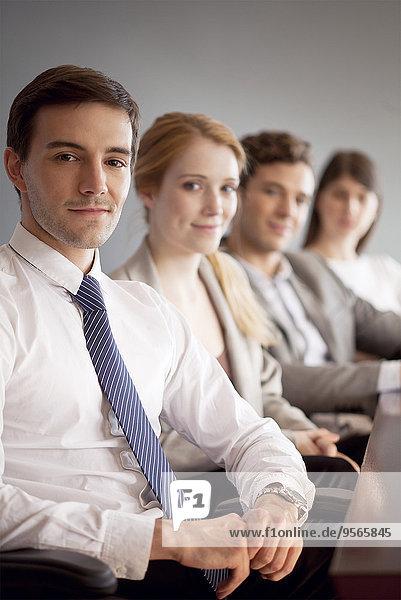 Young Business Professionals  Porträt