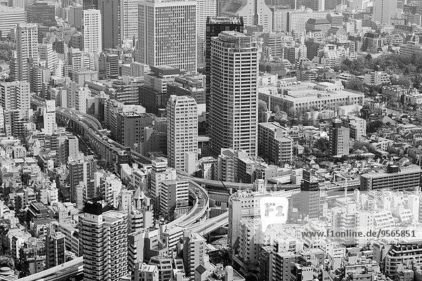 Hochwinkelansicht des Stadtbildes