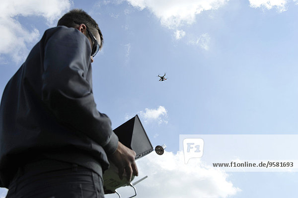 Civilian UAV pilot  October 2014