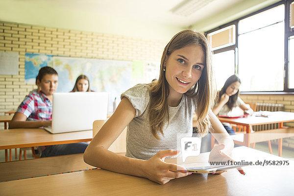 benutzen Klassenzimmer Student Tablet PC