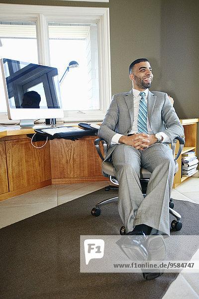 Schreibtisch Entspannung Stuhl Büro Mittelpunkt