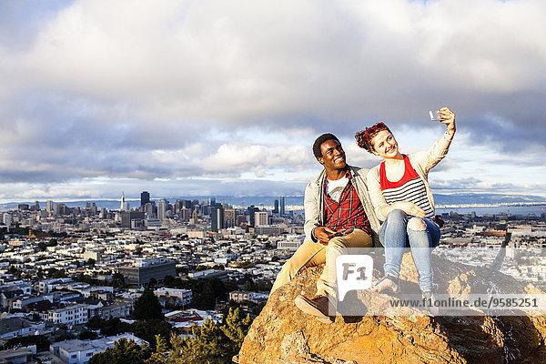 Handy Felsbrocken Stadtansicht Stadtansichten nehmen Ignoranz
