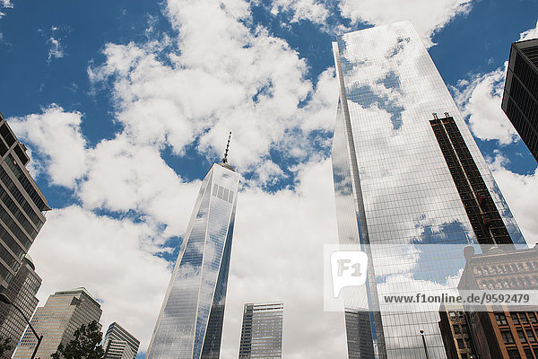 One World Trade Center  Lower Manhattan  New York  USA
