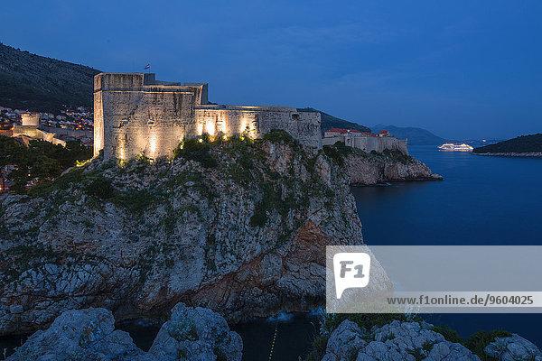 Stadtmauer, Festung, Kroatien, Dalmatien, Dubrovnik