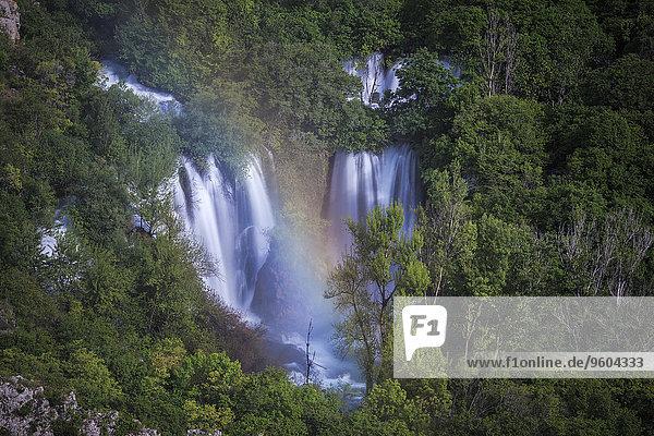 Manojlovac waterfall,  Krka National Park,  Croatia