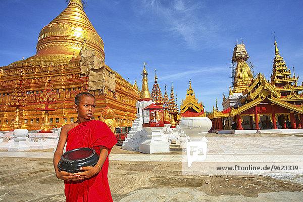 Myanmar  Nyaung-U  Shwezigon Pagoda
