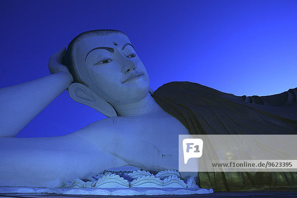 Myanmar  Bago City  Shwethalyaung Buddha