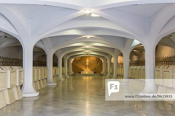 Ecuador  Quito  Basilika des Nationalen Gelübdes  Panteon Nacional de Jefes de Estado