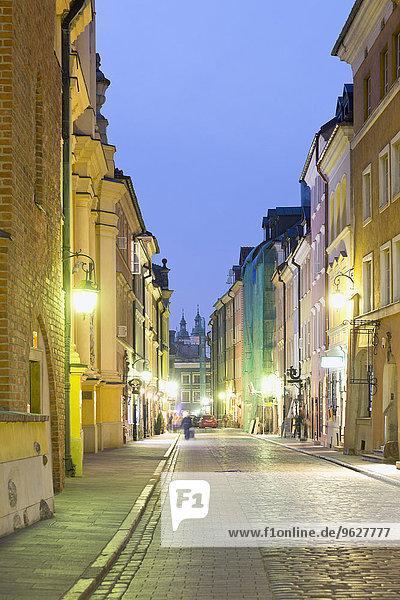 Polen  Ulica Piwna  Straße in der Altstadt von Warschau