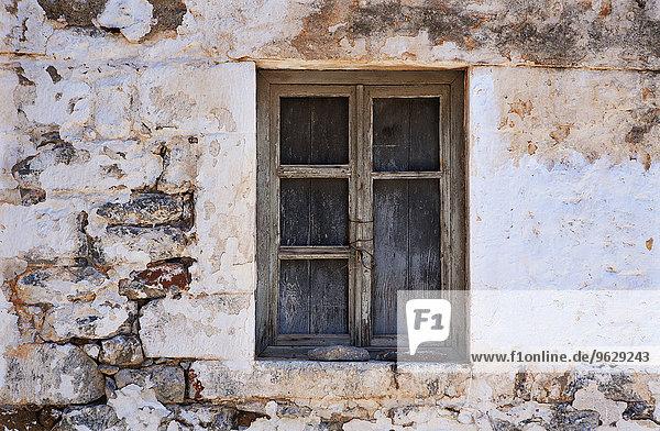 Griechenland  Gerolimenas  altes Fenster