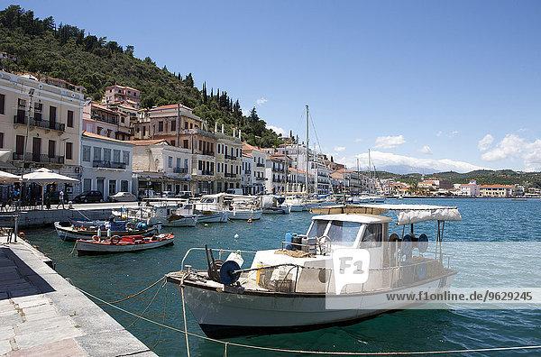 Griechenland  Gythio  Fischerboote im Hafen