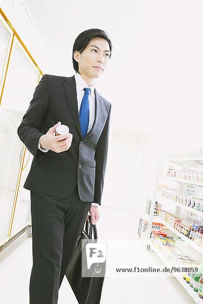 Geschäftsmann Laden jung Zweckmäßigkeit japanisch