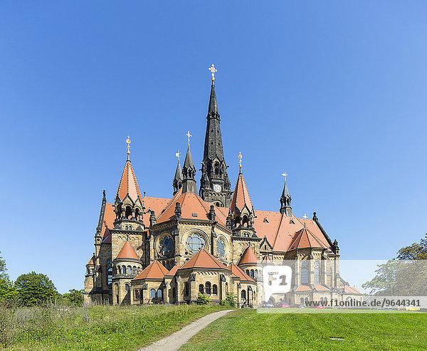 Garnisonkirche Sankt Martin  Dresden  Sachsen  Deutschland  Europa