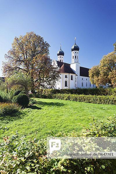 Kloster Benediktbeuern  Benediktbeuern  Oberbayern  Bayern  Deutschland  Europa