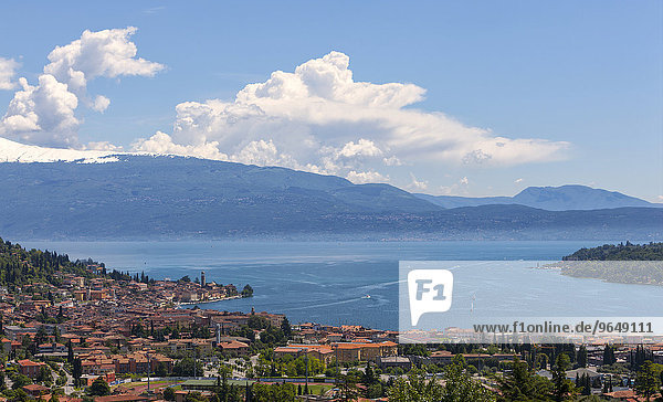Gardasee  San Felice del Benaco  Provinz Brescia  Region Lombardei  Italien  Europa