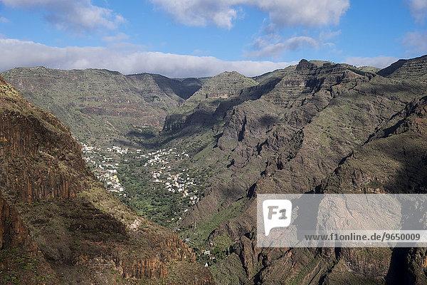 Valle Gran Rey  La Gomera  Kanarische Inseln  Spanien  Europa