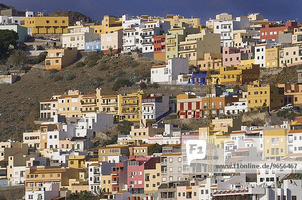 San Sebastian  die Hauptstadt von La Gomera  Kanarische Inseln  Spanien  Europa