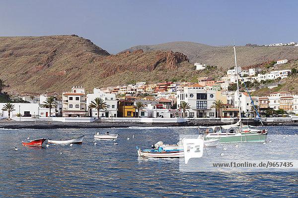 Hafen  Playa de Santiago  La Gomera  Kanarische Inseln  Spanien  Europa