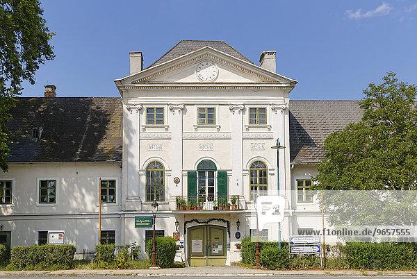 Schloss Potzneusiedl  Nordburgenland  Burgenland  Österreich  Europa