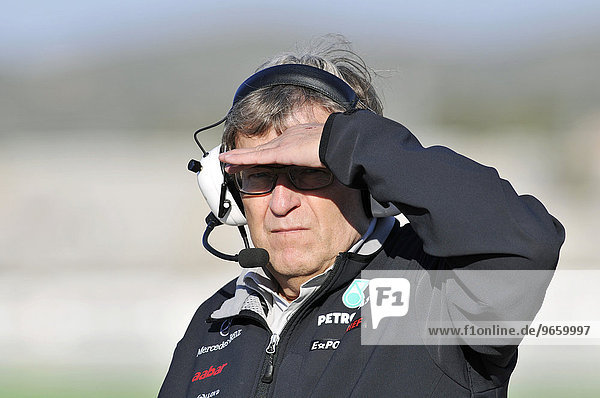 Norbert Haug  GER  Motorsport-Direktor Mercedes GP