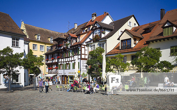 Ausflugslokale  Meersburg  Baden-Württemberg  Deutschland  Europa