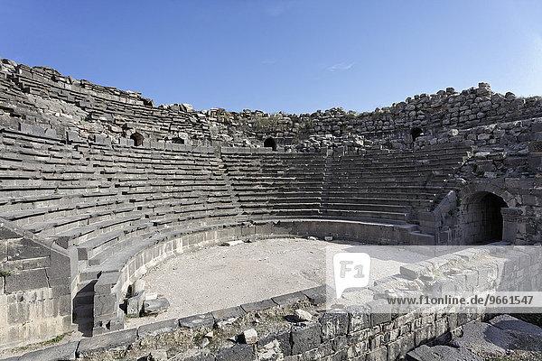 Westtheater  antikes Gadara  Umm Qais  Jordanien  Asien