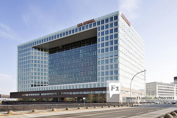 Spiegel-Gebäude  Verlagshaus des Spiegel-Verlags  Ericusspitze  Hafencity  Hamburg  Deutschland  Europa