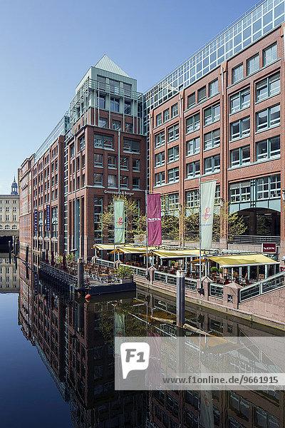 Bleichenhof  Büro- und Geschäftshaus  Hamburg  Deutschland  Europa