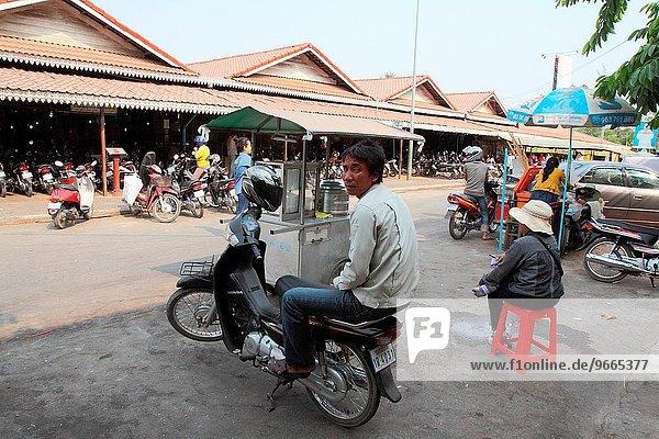 Lifestyle Straße ernten Kambodscha