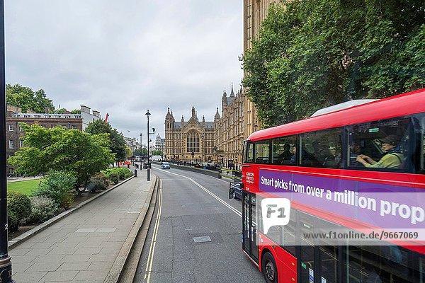 London Hauptstadt Großstadt Omnibus