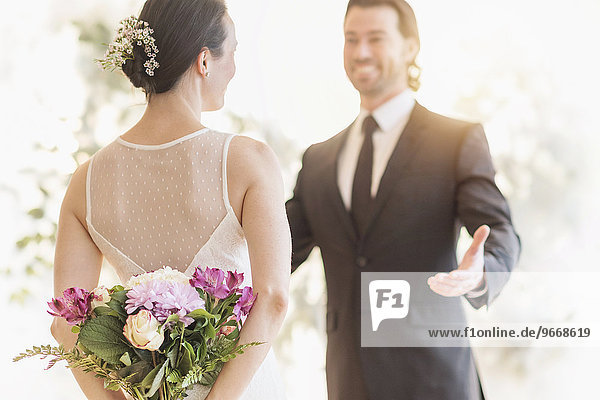 sehen Braut Bräutigam