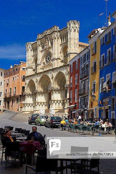 Cathedral  Cuenca  UNESCO World Heritage Site. Castilla-La Mancha. Spain.