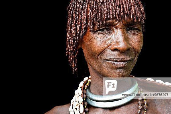 Frau Tal Äthiopien Volksstamm Stamm