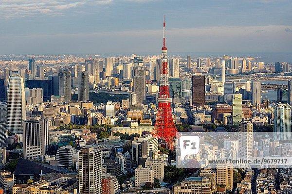 Panorama Hügel Roppongi Japan