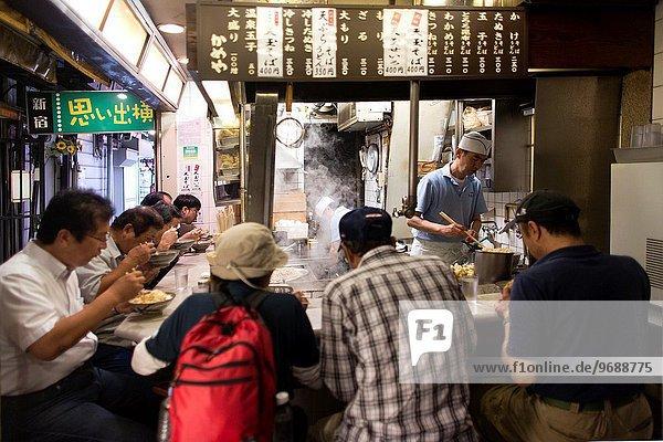 restaurant in Tokyo.