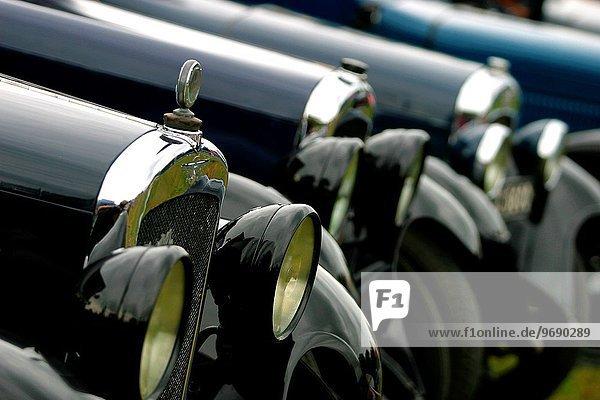 Fest festlich Auto britisch Klassisches Konzert Klassik Derbyshire