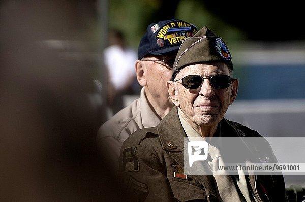 Vereinigte Staaten von Amerika USA Tag ehrbar Schlacht amerikanisch Arizona März Militär Parade