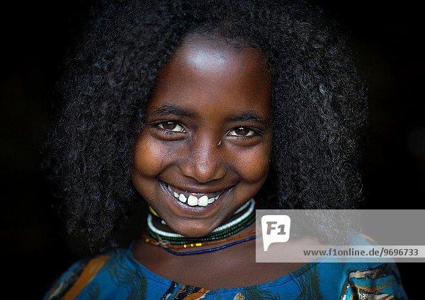 Borana Tribe Girl  Yabelo  Ethiopia.