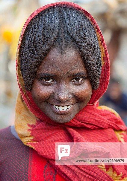 Afar Tribe Girl  Assayta  Ethiopia.