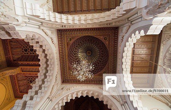 offen Wahrzeichen Casablanca Marokko Moschee
