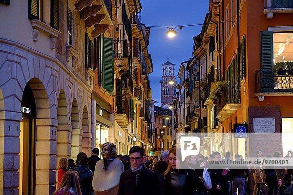Straße Italien Verona
