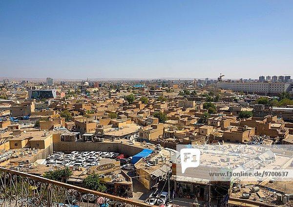sehen Stadt Zitadelle Irak alt